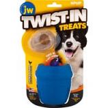 Jw - Dog/Cat -Jw Twist-In Treats Toy & Treat - Blue - 2 Pack