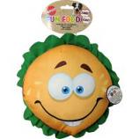 Ethical Dog -Fun Food Jumbo Hamburger Plush Toy - Assorted - 11 Inch