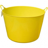 Tuff Stuff Products - Flex Tub  - Yellow  - 4 Gallon