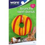 Ware - Bird/Sm An -Critter Ware Krunchy Swirl Donut -Assorted
