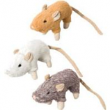 Ethical Cat - House Mouse W/Catnip Cat Toy - Assorted - 4In