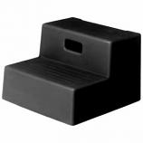 Horsemens Pride - Mounting Step 2 Step - Black - 15x18 3/4 Inch