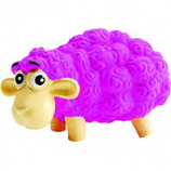 Petstages - Tootiez Sheep Durable Latex Grunter Toy - Pink - Medium