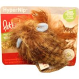 Worldwise - Wild Wooly Long Tailed Mouse With Hypernip Cat Toy - Brown