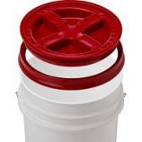 Gamma2 - Gamma Seal Lid - Red - 5 Gallon/12 Inc