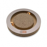 K&H Pet Products - Kitty Tippy Round Cardboard Toy - Brown - 15 Inch