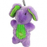 Charming Pet Products - Peek - A - Boo Elephant Dog Toy - Purple - Med/9 Inch