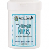 Earthwhile Endeavors - Earthbath Tooth/Gum Wipes - 25 Count