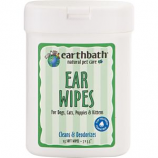 Earthwhile Endeavors - Earthbath Ear Wipes - Fragrance Free - 25 Count