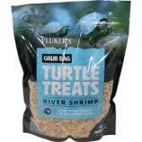 Flukers -Grub Bag Turtle Treat - Shrimp - 12 Oz