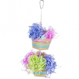 Prevue Pet Products - Prevue Baskets Of Bounty Bird Toy - Assorted -  Assorted