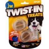 Jw - Dog/Cat -Jw Twist-In Treats - Chicken - 2 Pack