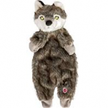 Ethical Dog - Plush Furzz Wolf - Grey - 13.5 In