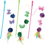Ethical Cat - Butterfly & Mylar Teaser Wand Cat Toy