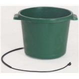 Farm Innovators - Plastic Heated Tub - Green - 16 Gallon