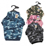 Casual Canine - Camo Hoodie -Small - Pink