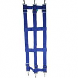 Partrade - Poly Web Stall Guard - Blue - 46 X 18 Inch