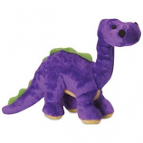 Quaker Pet Group - Godog Just For Me Dino Dog Toy - Purple