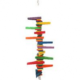 A&E Cage Company - Hb Colored Wooden Blocks & Wedges - Multi -Medium