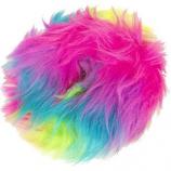 Quaker Pet Group - Godog Furball Ring - Rainbow - Large