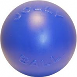Jolly Pets - Push-N-Play Ball - Blue  - 4.5 Inch
