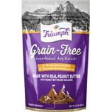 Triumph Pet Industries - Triumph Grain Free Dog Biscuits - Peanut Butter - 12 Ounce