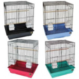 Prevue Pet Products - Parakeet Economy Dometop Cage - Assorted - 18 x 14 x 22 Inch/4 Pack