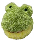 Petlou - EZ Squeaky Frog Ball - 4 Inch
