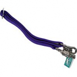 Partrade - Nickel Snap Nylon Web Adjustable Trailer Tie - Royal - Up To 46 Inch