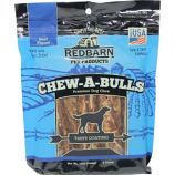 Redbarn Pet Products - Chew-A-Bulls Beef Premium Dog Chew - Beef - 6 Pk