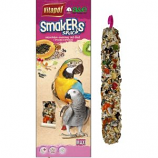 A&E Cage Company - A&E Treat Stick Parrot Maxi Twin Pack - Fruit - 2 Pack