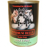 Replenish Pet - Maximum Bully Canned Dog Food - Tuna / Duck - 13.2 Ounce