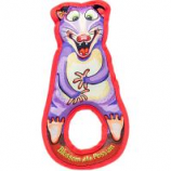 Fuzzu - Blossom The Possum Grab Nabbers Tug Dog Toy - Purple - Large