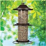 Woodstream Wildbird - Panorama Wild Bird Feeder - Rustic Brown - 4.5 Pound