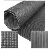 Miller Mfg - Little Giant Pre-Cut Rubber Mat - Black - 48 X 96 Inch