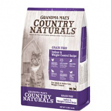 Grandma Mae S Country Nat - Country Naturals Grain Free Weight Control / Hairbal - 12 Lb