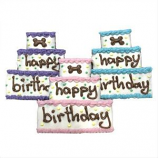 Bubba Rose Biscuit - Assorted Birthday Cake Treats (Case of 8)