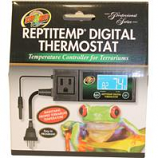 Zoo Med Laboratories - Reptitemp Digital Thermostat -  Black