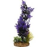 Blue Ribbon Pet Products -Color Burst Florals Brush Plant Cluster - Black/Purple - Large