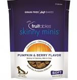 Manna Pro - Fruitables Skinny Minis Soft Chew Dog Treat - Pumpkin/Berry - 5 oz