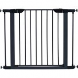 Midwest Homes For Pets - Steel Glow Stripe Pet Gate - Graphite - 29 H X 29-38W