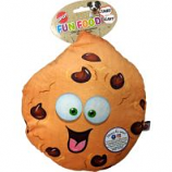 Ethical Dog -Fun Food Jumbo Cookie Plush Toy - Assorted - 11 Inch