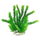 Aquatop Aquatic Supplies  - Aquarium Plant With Weighted Base - 6 Inch - Green