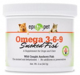 Epi-pet - Omega 3-6-9 Smoked Fish Supplement For Dogs & Cats - 2oz Jar