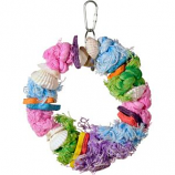 Prevue Pet Products - Cal- Sea- Yum Dollar Toy - Multi-Colored - 5X7 Inch -