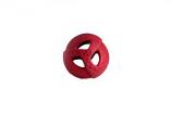 "WO - Ball - Cranberry - 2.8"" Diameter"
