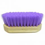 Imported Horse Supply - Pony Brush - Purple - 6.5 x 2.25 Inch