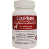 Our Pets Pharmacy - Quad-Worm - 21-45Lb/4 Ct