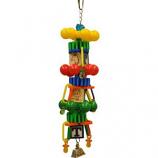 A&E Cage Company - Happy Beaks Spin Tower Bird Toy - Medium