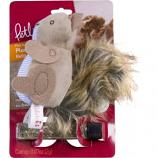 Worldwise Inc -Plush Player Squirrel Catnip Cat Toy